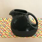 Fiestaware Slate Juice Pitcher Fiesta Charcoal Gray Grey Small Disc Pitcher