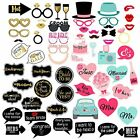 Wedding Photo Booth Props For Party Bridal Shower Decoration Supplies 60 Piece