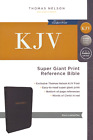 KJV Reference Bible Super Giant Print Black Indexed BRAND NEW