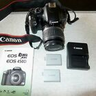 Canon EOS Digital Rebel XSi EOS 450D 122MP Digital SLR Camera Excellent Cond