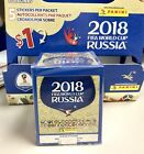 Panini 2018 FIFA World Cup Russia Soccer Stickers -50 Packs-1 Box