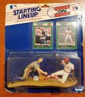 1989 Starting Lineup One On One Baseball - Gary Carter and Eric Davis