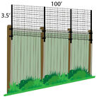 3.5' x 100' Deer Poly Extension Kit For Existing Fence Wood PVC Metal