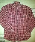 Levis Big E Sawtooth Check Shirt Made in USA Large Levis Jeans Original
