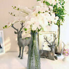 EP Artificial Butterfly Orchid Silk Floral Flower Stem Party Wedding Home Decor