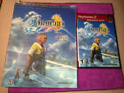 Final Fantasy X Strategy Guide w/Poster & PS2 Greatest Hits Game DVD ROM w/Case