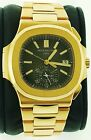 Patek Philippe Nautilus 18K Rose Gold  Black Dial Chronograph Automatic watch