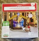 LightShow Airblown Inflatable Kaleidoscope Nativity Scene Inflatable Decor NEW