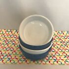 Fiestaware Small Bowl Fiesta Lapis White 14 oz Cereal Bowls Lot of 4