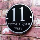 Custom Personalised House Sign Door Number Address Plaque Modern House Sign