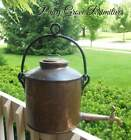 ANTIQUE COPPER GEORGIAN INGLENOOK KETTLE WITH BRASS SPIGOT HAND FORGED AAFA