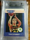 1988 Kenner Starting Lineup SLU #12 Tom Chambers  BGS 9 Mint Impossible