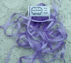 100PURE SILK EMBROIDERY RIBBON 1 84MM WIDE 25 YDS FRENCH LILAC  COLOR
