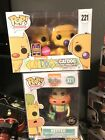 Funko pop - Nickelodeon Heffer Chase GITD+ Catdog Flocked SDCC 17 SET