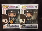 BOB ROSS AND RACOON AND HOOT REGULAR & CHASE POP ANIMATION VINYL FIGURE FUNKO