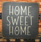 PRIMITIVE  COUNTRY  HOME SWEET HOME  mini  sq   SIGN