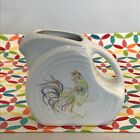 Fiestaware Rooster Mini Disc Pitcher Fiesta White Outlet Exclusive HTF