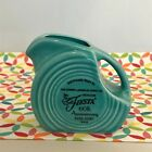 Fiestaware Turquoise Mini Disc Pitcher 60th Anniversary Fiesta Blue NWT