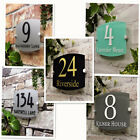 Custom Modern Acrylic Outdoor Frosted Acrylic Door Number Address Home Sign