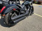 Rinehart Slip On Mufflers Exhaust 2017 Victory Octane Black EXCLUSIVE DEALER