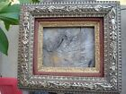 Antique Hudson River Valley silver/gold gilt picture/painting frame, fits 10x8