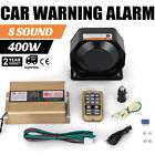 At 400w 8 Sound Loud Cartruck Warning Alarm Police Fire Siren Mic System Sell