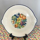 Fiestaware Watercolors Round Serving Tray Fiesta Retired Cake Plate NWT