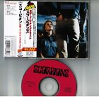 SCORPIONS Animal Magnetism JAPAN CD PHCR-4116 w/Misprinted OBI+PS BOOKLET FreeSH