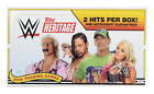 2018 Topps WWE Heritage Wrestling Hobby Box New Sealed