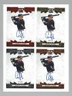 2015 Leaf Ultimate Draft Aaron Judge RC Rainbow Auto Lot Red Gold Silver Base SP