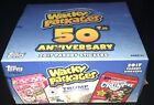 2017 TOPPS WACKY PACKAGES 50th ANNIVERSARY HOBBY BOX