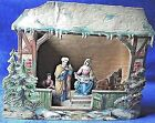 Vintage German Pop up Paper Creche Nativity Scene 80 years old