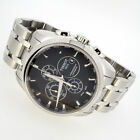 TISSOT MENS COUTURIER BLACK CHRONO DIAL AUTOMATIC STAINLESS T035627A   CT