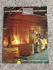 1964  Allis-chalmers engine powered fork lifts, original sales handout