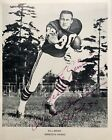 """Signed 8x10 BILL BROWN Photo, Running Back For Mn Vikkngs, nicknamed """"Boom Boom"""""""