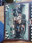 dale earnhardt autograph on picture of full crew