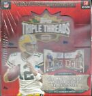 2012 Triple Threads Factory Sealed Football Hobby Box Andrew Luck AUTO RC ??