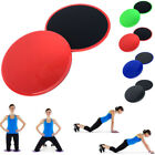 2X Fitness Gliding Discs Core Sliders For Home/Gym Body Workout Abs Leg Train