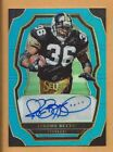 Jerome Bettis 2017 Select Blue AUTO # 15 Steelers