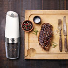 Vina Gravity Salt Pepper Grinder Electric Automatic Battery Operated Shaker Set