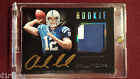 Andrew Luck 2012 Panini Black Player Worn Patch Gold Auto Rookie 145 349