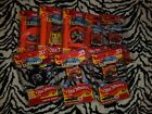 Huge Lot of Worlds Smallest HOT WHEELS 3 Track sets 9 cars  carrying case