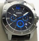 Fossil Privateer Sport Chronograph Watch BQ2167IE Mens Smoke Stainless Steel NEW