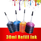 30ml Universal Refill Dye Inks Replacement Ink Kit For HP For Epson Printers