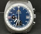 VINTAGE OMEGA SEAMASTER CHRONOGRAPH AUTOMATIC  BLUE DIAL REF.176007 Cal.1040
