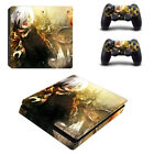 PS4 slim console skin & controller decal Tokyo Ghoul cover for PlaySation 4 Slim