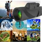Zoom Optical HD Lens Monocular Telescope+ Tripod+ Clip For Smart PhoneD