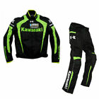 "Racing Jacket Winter automobile race clothing motorcycle clothes for ""KAWASAKI"""
