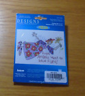 Janlynn Stamped Cross Stitch Kit  Even Angels Want To Have Fun
