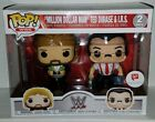 Funko Pop! WWE MILLION DOLLAR MAN TED DIBIASE & IRS Walgreens Exclusive 2 Pack